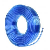 China Water resistant PU hose, 12*8mm, Transparent blue, pneumatic tube for compressed air system on sale