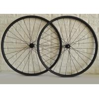 Buy cheap DT Swiss Hub Carbon Fiber Bike Wheels , Tubeless MTB Wheels Sapim CX-RAY Spokes product