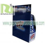 China Electronic Cigarette counter displays smoke cardbord point of purchase ENCE071 on sale