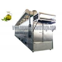 China Durable Industrial Conveyor Belt Dryer Machine  Continuous Tunnel Dryer For Hemp Leaves on sale
