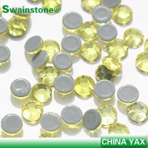 Buy cheap Best quality swainstone ss6 - ss34 flat back rhinestone, China hot fix rhinestone, wholesale hot fix rhinestone product