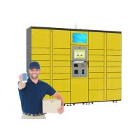 Buy cheap 24 Hours Intelligent Smart Electronic Dry Cleaning Locker Systems with 15 inch from wholesalers