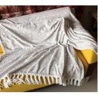 Cozy Polyester Super Soft Flannel Print Blanket Warm Throw Blankets For Sofa / Bed
