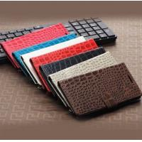 Buy cheap Crocodile Wallet Book Standable Leather Case with Card Holder for Samsung Galaxy from wholesalers