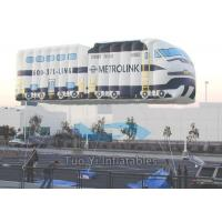 Quality Heat Sealed Outdoor Advertising Balloons / Giant Car Helium Balloon Advertising for sale