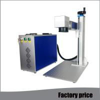Buy cheap Metal Fiber Mini Laser Marking Machine EZCAD Software Low Power Consumption from wholesalers