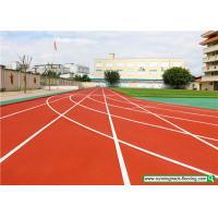 Buy cheap SSGsportsurface Full PU Mixed Recycled Rubber Running Track Playground Flooring product