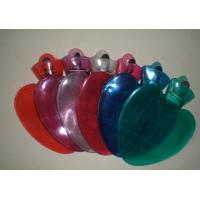 China Gift PVC Hot Water Bottle with plush cover on sale