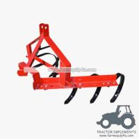 China Farm equipment tractor 3point hitch C tine ripper cultivator on sale