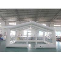 Buy cheap Custom Transparent Airtight Inflatable Tent for Advertising Event from wholesalers