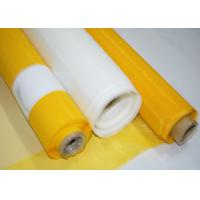 Buy cheap High Durability Polyester Screen Mesh Fabric , 305 Mesh Count Silk Screen Fabric product