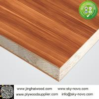 Buy cheap Mélamine en bois Blockboard de grain product