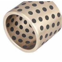 Buy cheap High Load Plug Graphite Oilless Bushing Solid Bronze Plate C86300 VSB-50P product