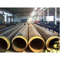 Buy cheap High Density Polyethylene PU Foam Insulation Steel Pipe product