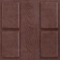China Quality-assured Beautiful decorative Factory price 3D leather wall panel on sale