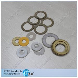 China Filled PTFE sealing gaskets teflon uses on sale
