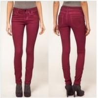 Buy cheap 2013 fashion skinny jeans pants for women in soft red color   product