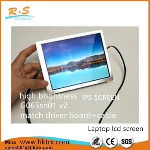 "Buy cheap High Brightness 6.5"" TFT Industrial LCD Display IPS Screen G065VN01 V2 product"