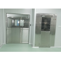 Buy cheap 2 Side Blowing PLC Control Stainless Steel 304 Air Shower Room product