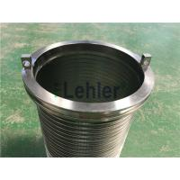 Buy cheap WWE-178 Wedge Wire Filter Elements Long Slit High Flow Rate ISO Certification product