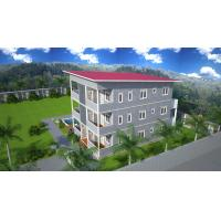 China Prefabricated Apartment Buildings / Living Or Office Supply Buildings on sale