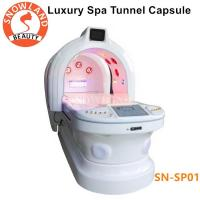 Buy cheap 110v/220v Ozone Dry SPA Infrared Sauna Capsule With Photon Light Magic Tunnel from wholesalers