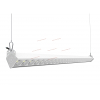 Buy cheap Anti Glare 60W Suspension Linear LED Light 150W/M A4 Beam from wholesalers