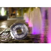 Buy cheap 12v / 24v 9watt Underwater LED Lights For Fountains / LED Waterfall Lights product