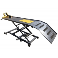 Buy cheap 450kg bigger,stronger,heavier,hydraulic ATV Motorcycle lift table product
