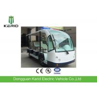 Buy cheap Eco Friendly Design Low Noise 8 Passenger Seats Electric Sightseeing Bus With Horn Speaker For Amusement Park product