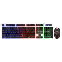 Buy cheap Anti - Ghosting Gaming Keyboard Mouse Combo For Desktop / Notebook / PC Computer from wholesalers