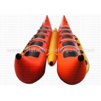 Buy cheap 0.9mm PVC Banana Motorized Inflatable Boat Heavy Duty RoHS EN71 Certification from wholesalers