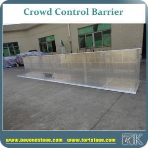 Buy cheap толпа высоты 1.2м алюминиевая баррикад для портативной загородки оборудования безопасностью для этапа product