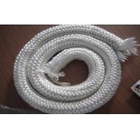 China White Glass Fiber Stove Rope Seal , 200℃ - 250℃ Refractoriness on sale