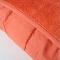 Buy cheap Multi Short Plushed Cushioned Colorful Super King Quilt Microfiber Blanket product