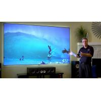Buy cheap 120 Inch Fixed Projector Screen , Fixed Frame Projection Screen For Business Presentations product