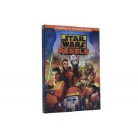 China Star Wars Rebels Season 4 DVD Movie Science Fiction Animation Series DVD For Kids Family on sale