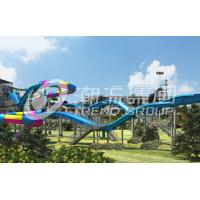 Buy cheap Commercial Water Park Slide Fiber Glass Capacity 360 persons / h for Gaint Water Park product