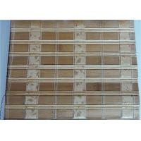 Buy cheap Comfortable Bamboo Roller Blinds , Indoor Bamboo Window Shades High Strength product