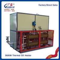Buy cheap hot Press machine 130kw thermal heating oil product