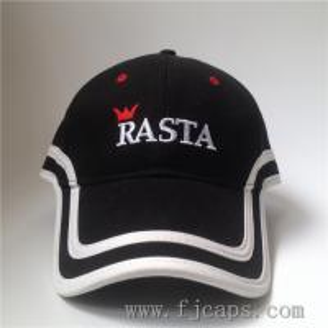 Buy cheap 【FUJUE】long peak baseball cap,high quality golf caps OEM embroidery cotton hats, black cap product