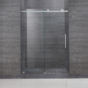 Buy cheap Frameless Frame Style hinged glass door australian sliding shower door with tempered glass product