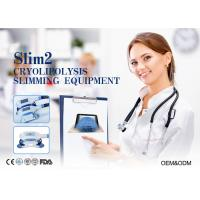 Buy cheap Cryolipolysis Vacuum Slimming Machine For Body Sculpture With 2 Handpieces product