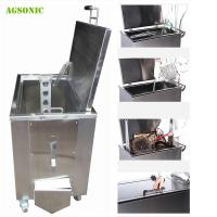 Buy cheap Customized Heated Soak Tank Kitchen Cleaning For Cafe / Bakery Pans Pots from wholesalers