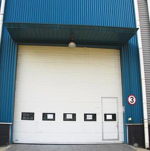 China Safely Garage Sectional Doors , Industrial Overhead Doors Big Size on sale