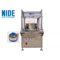 Buy cheap Single Flyer Automatic Coil Winding Machine 2 Stations For Fan Motor product