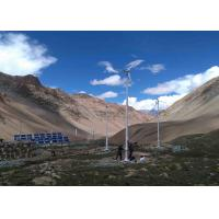 Household 10kw Off Grid Wind Generator , Personal Windmill Turbine With Hybrid Renewable Power