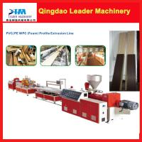 Buy cheap WPC profile extrusion machine, WPC door frame, door sideline, railing extrusion machine product