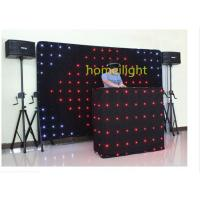 Dj twinkling flexible led video curtain rgb for festival and concert