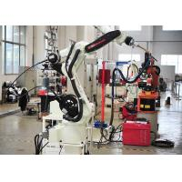 Buy cheap Stainless Steel Robotic Automation Systems , Auto Exhaust Pipe Robotic Arm Welding Machine product